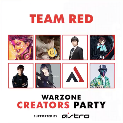 Warzone Creators Partyにeoheohが参戦! の画像